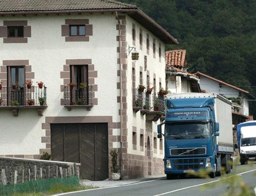 El Supremo declara nulos los peajes a transportistas en Guipúzcoa